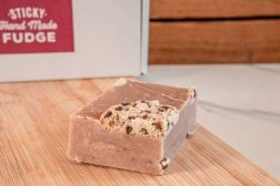 Cookie Dough Handmade Fudge by Sticky Chocolate Ltd