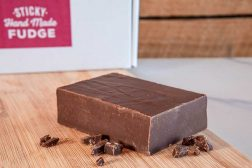An infusion of sea salt & deliciously dark Belgian chocolate, an unforgettable taste experience