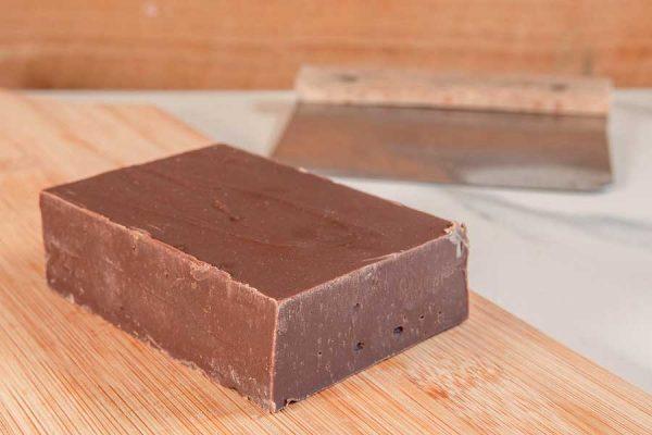 Dark Belgian & Sea Salt Handmade Fudge by Sticky Chocolate Ltd