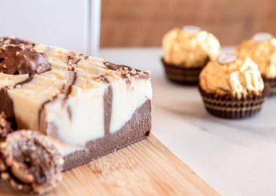 A mouth-watering taste of heaven, Ferrero Rocher hazelnut & vanilla handmade fudge