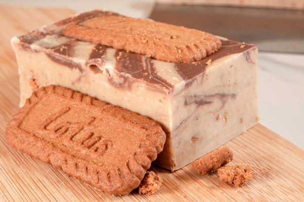 This creamy, handmade fudge earnt us a special recommendation from Lotus Biscoff themselves!