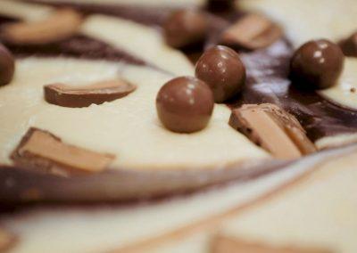 Smooth & creamy Malteser handmade fudge by Sticky Chocolate Ltd