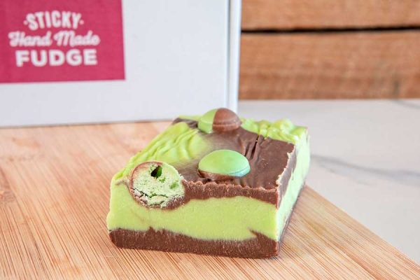 Mouth watering Mint Aero Handmade Fudge