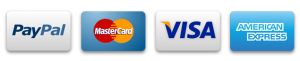 Pay securely via Paypal Visa Mastercard & American Express