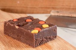 Reece's Peanut Butter Handmade Fudge by Sticky Chocolate Ltd