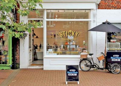 Visit Sticky Chocolate Ltd Hand Made Fudge at our Lytham store