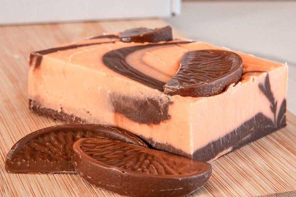 Tasty Terrys Chocolate Orange fudge, an infusion of orange with creamy milk Belgian chocolate