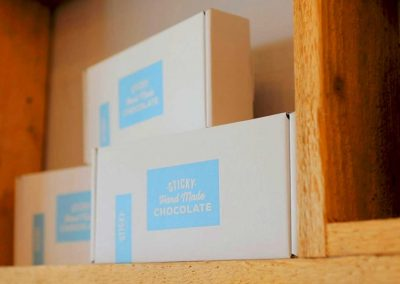 Build a Box of Fudge in our stores or online. Choose any 3 delicious bars of creamy handmade fudge