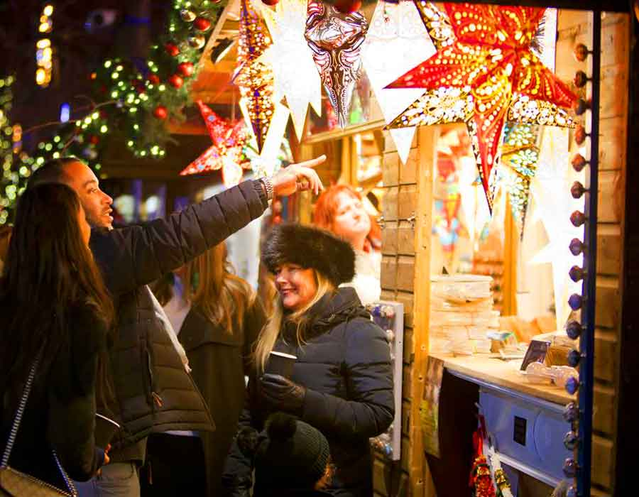 Find us at the York Christmas Markets from November