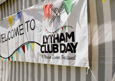 Visit us and our Wall of Fudge at Lytham Club Day in Lytham St Annes, Lancashire