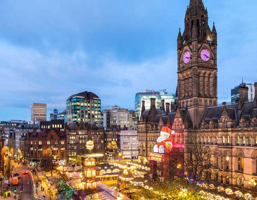 Find us at the award-winning Manchester Christmas Markets from November