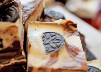 Oreo handmade fudge